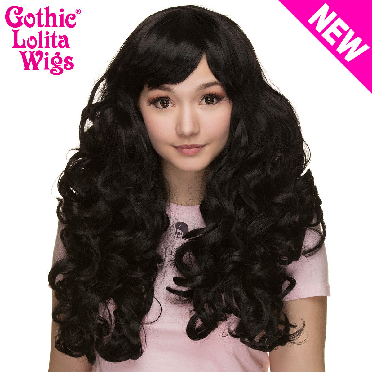 Gothic Lolita Wigs® <br> Spiraluxe 2™ Collection - Raven -00130