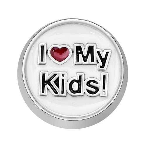 I Heart My Kids! Charm