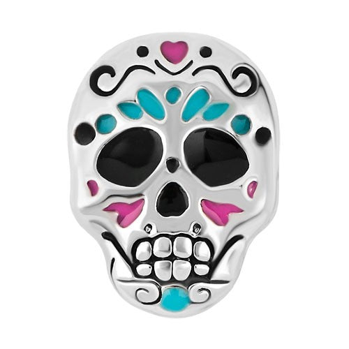 Calavera - Day Of The Dead Skull Charm