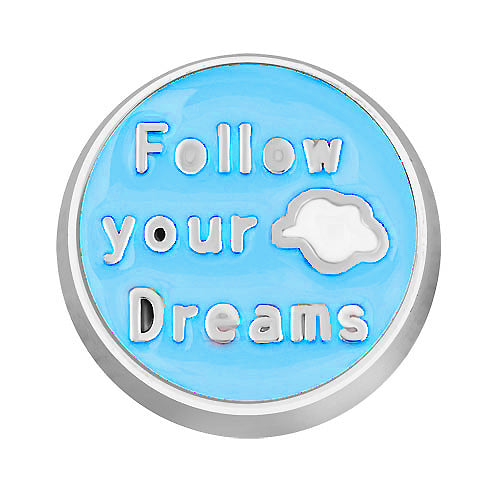 Follow Your Dreams Charm