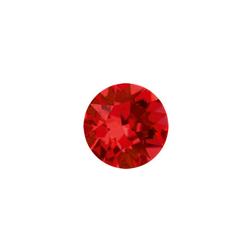 July Round Crystal Birthstone - Ruby