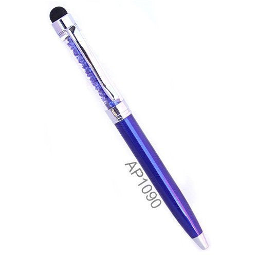 Mini Crystal Stylus Pen Bling Crystal Ballpoint Pen and Stylus for All Smart Devices