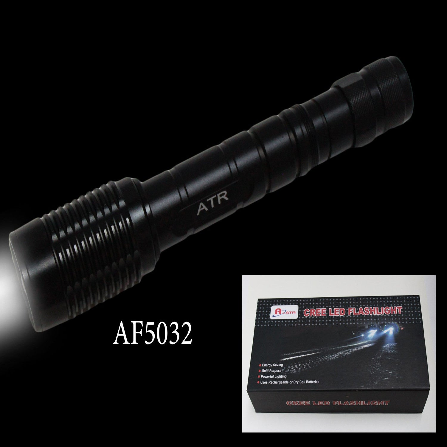 Rechargeable Power Style LED Focalize T6 Cree LED Flashlight