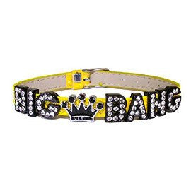 Kpop Big Bang VIP Black Crown Rhinestone Bracelet
