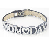 "Mother's Day ""Mom Day"" Sliding Charms Bracelet"