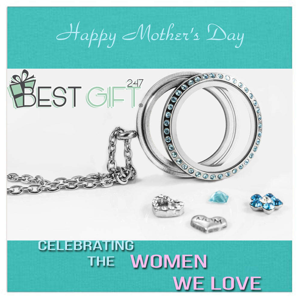 Mother's Day Stainless Steel Living Locket by BG247®