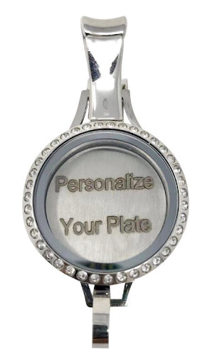 Personalized Locket Plate (Plate Only)