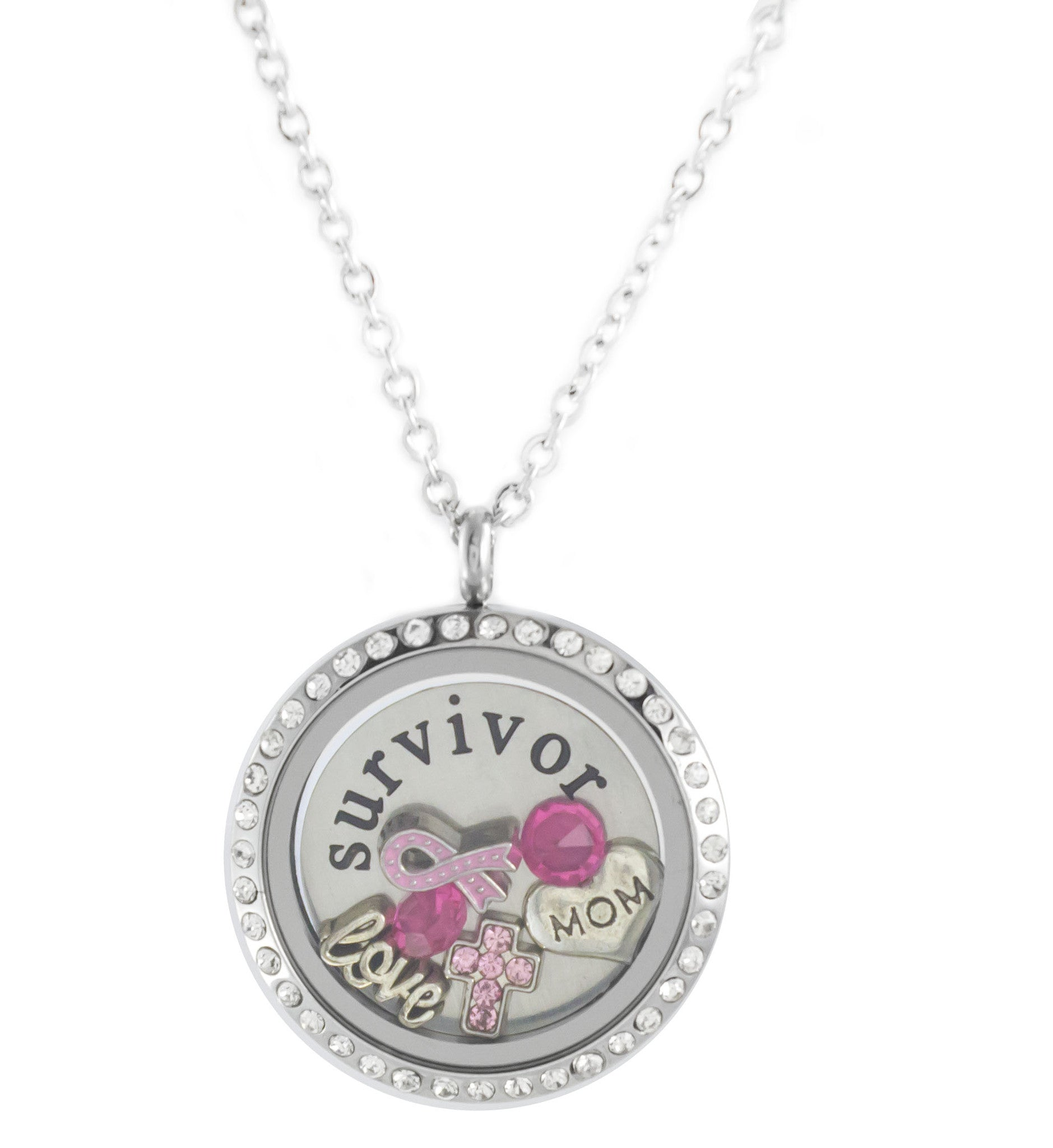 Cancer Awareness Floating Lockets