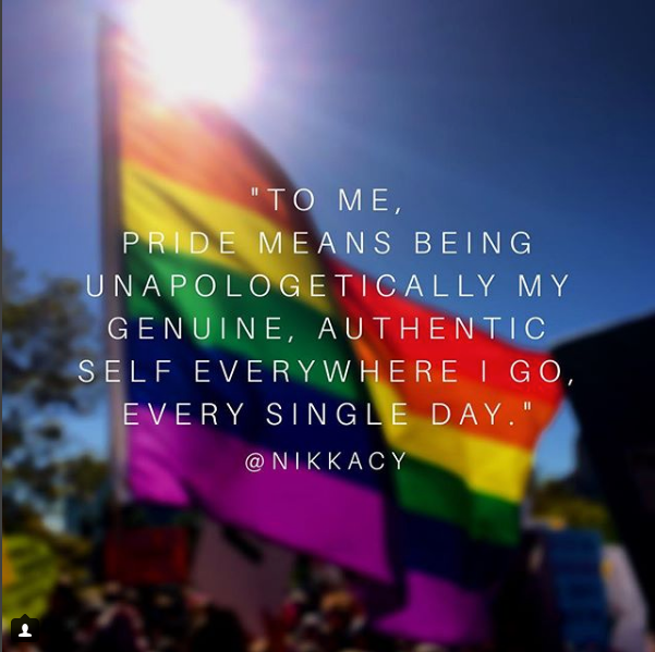 NiK Kacy's Summer Blog Update... is Pride really over?