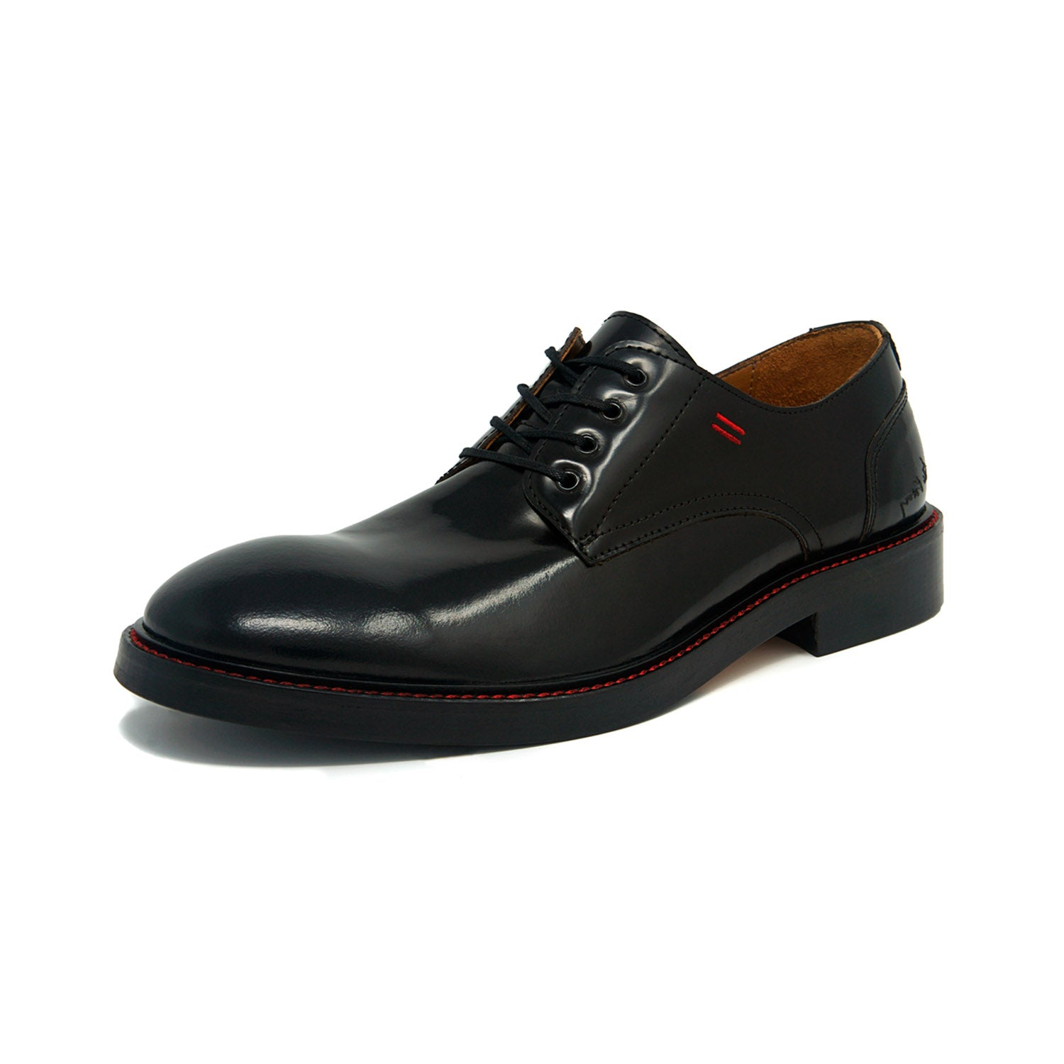 Formal Dress Classic Solid Black Derby's by NiK Kacy, gender-equal footwear going beyond the binary