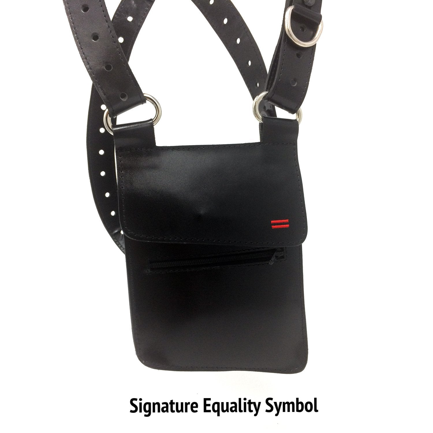 Genderfree Modular + Adjustable Utility Holster Harness with Wallet (Single or Dual) - NiK Kacy