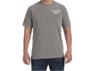 "C&O Comfort Colors® ""Modern Logo"" T-Shirt - Grey"