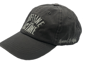 C&O Hat Embroidered Washed style - Charcoal