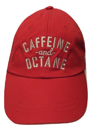 Hat C&O Embroidered, Washed Style - Red
