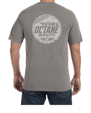 "C&O Comfort Colors® Wing ""Modern Distressed"" T-Shirt - Grey"