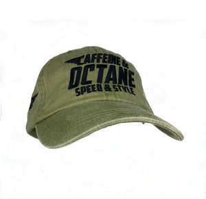 "C&O Hat Embroidered ""Wing Modern Logo"" - Khaki"