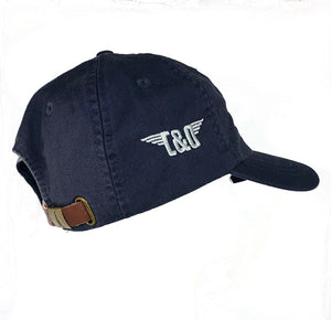 "C&O Hat Embroidered ""Wing Modern Logo"" - Navy"