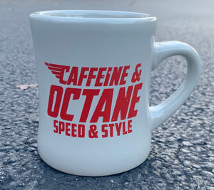C&O Coffee Mug Grey & Red