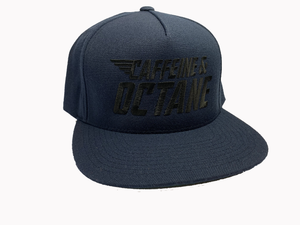 "C&O Flat Bill Embroidered ""Modern Stacked Logo"" - Navy Blue"