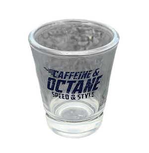 C&O Shot Glass - Blue