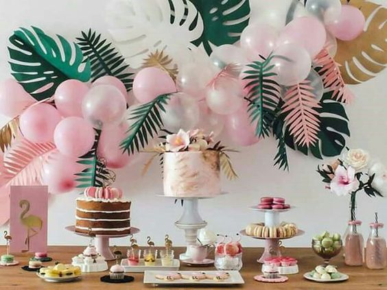 Flamingo Theme Bridal Shower