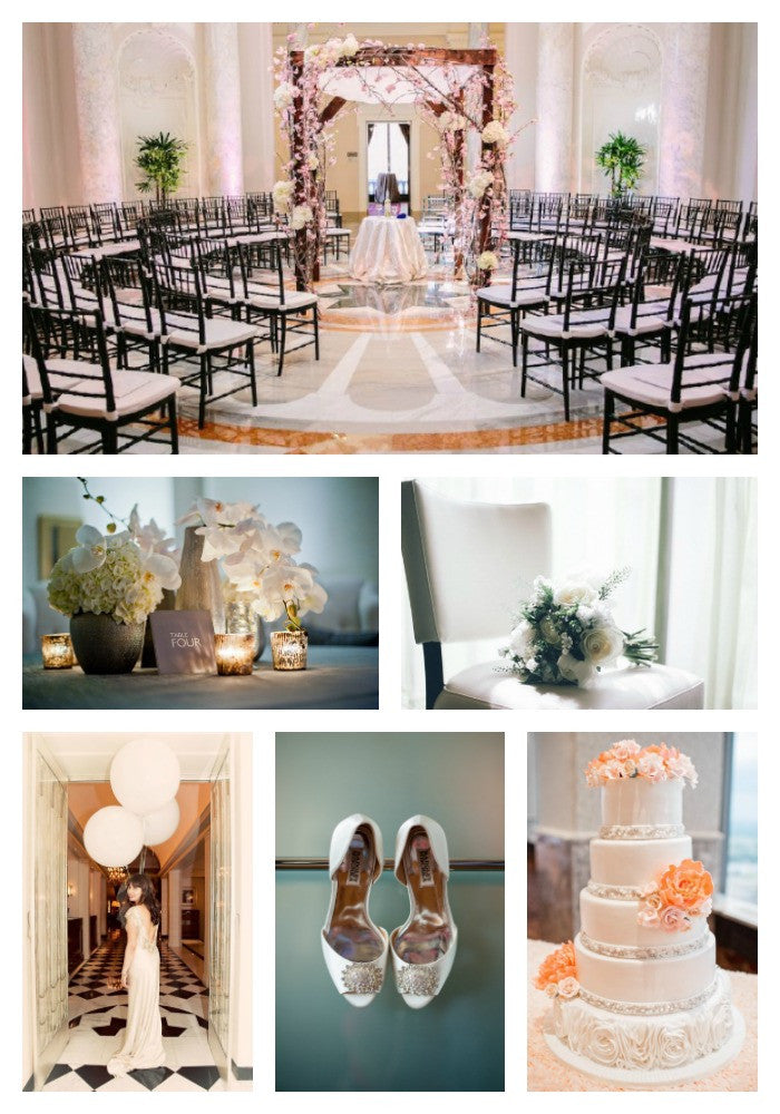 Inspiration For A Chic City Wedding