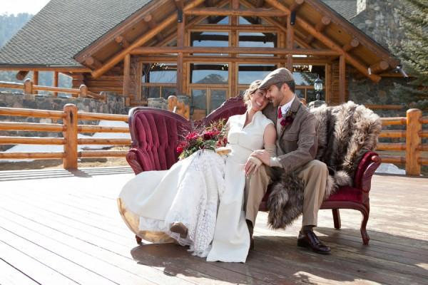 A Romantic Rustic Winter Wedding