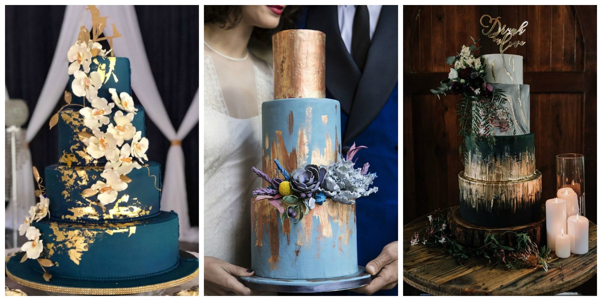 Blue Wedding Cake Trends for 2019