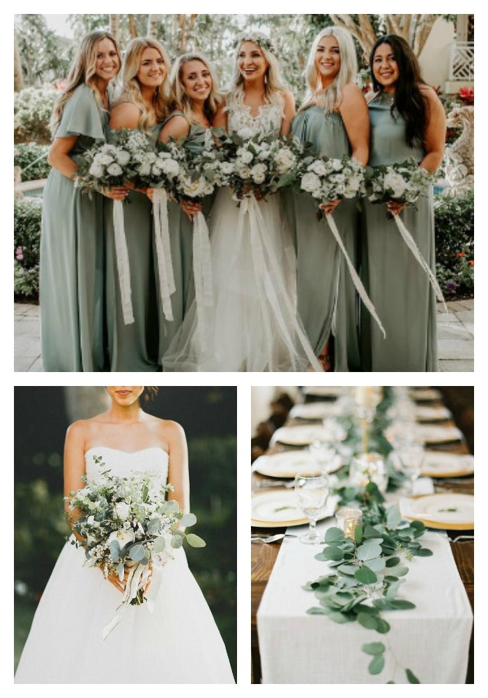 Sage and Cream Wedding Color Scheme
