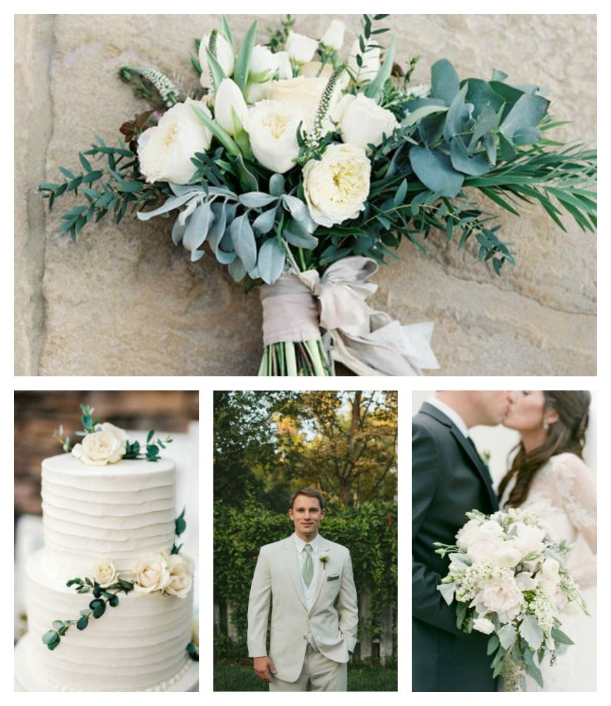 Sage and Cream Wedding Color Trends