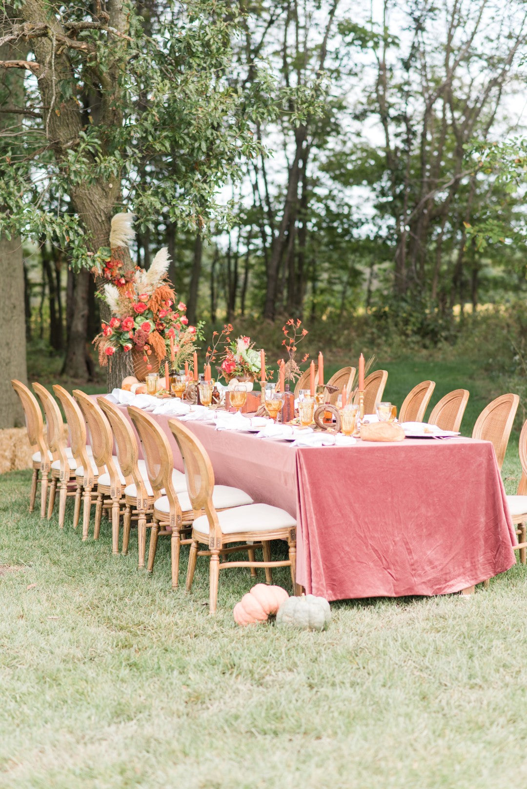 Thanksgiving Wedding Table