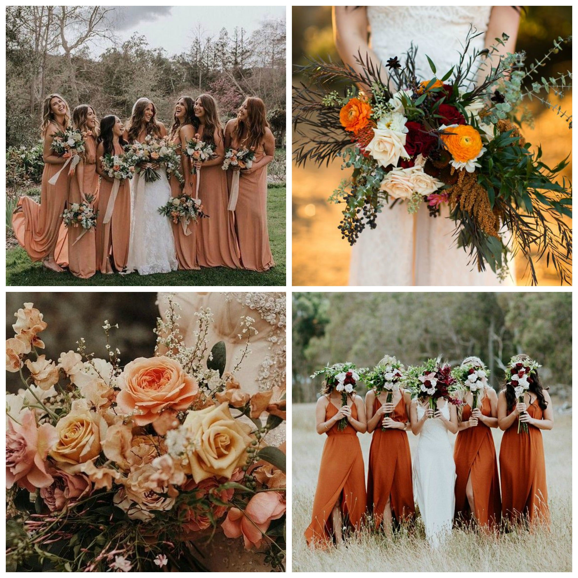 Sunset Orange Wedding Color Trends
