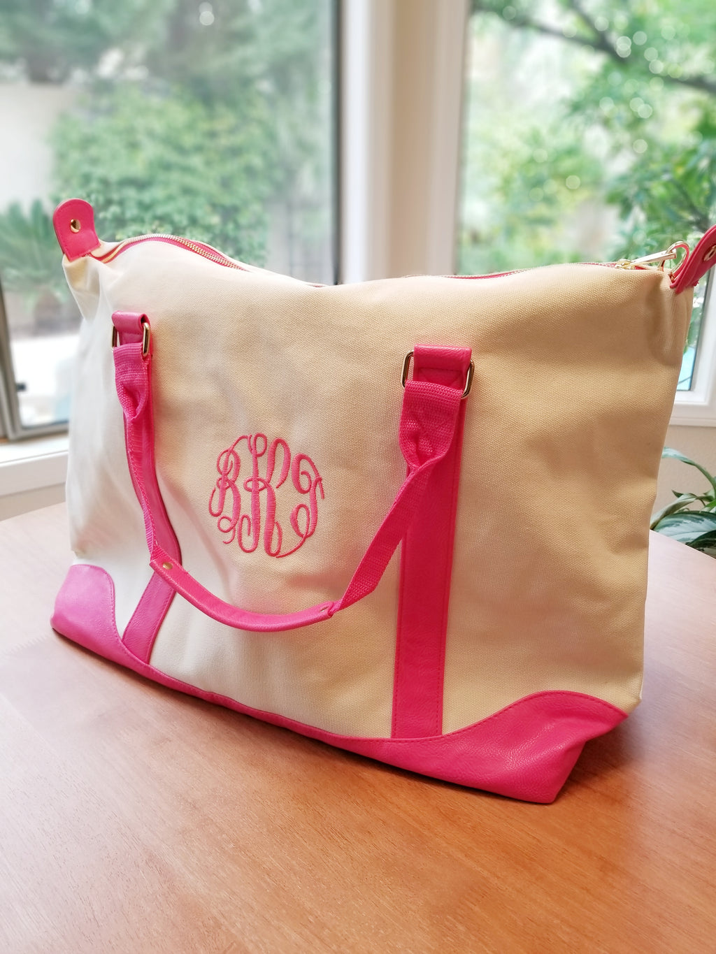 The Ella Winston Monogram Honeymoon Bag