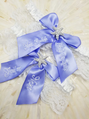 You're Next Starfish Wedding Garter