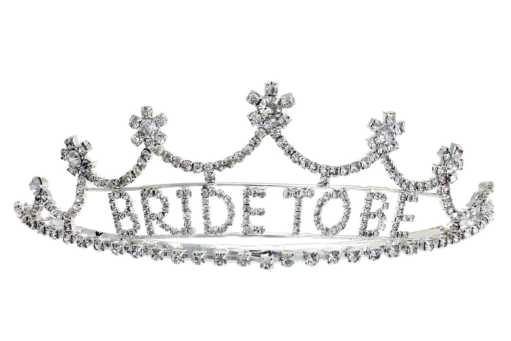 Bride To Be Tiara in Silver