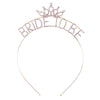 Bride To Be Headband in Gold - Bachelorette Party Headband
