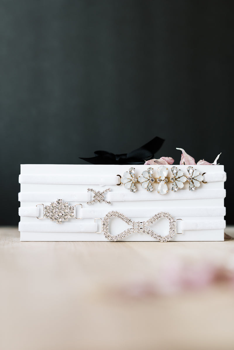 Unique bridal garters for the modern bride
