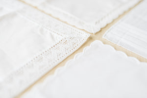 Close Up Of The Four Handkerchief Styles