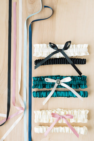 Ribbon Options For The Classic Garter Collection