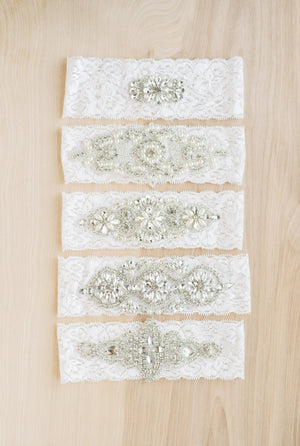Design Your Own Rhinestone Bridal Garter