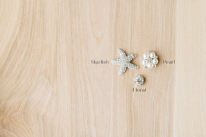 Center Jewel Options For Your Embroidered Ribbon Garter