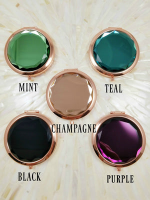Five Colors Of Jewel Top Mirrors