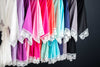 Solid cotton bridesmaid robes in eleven colors