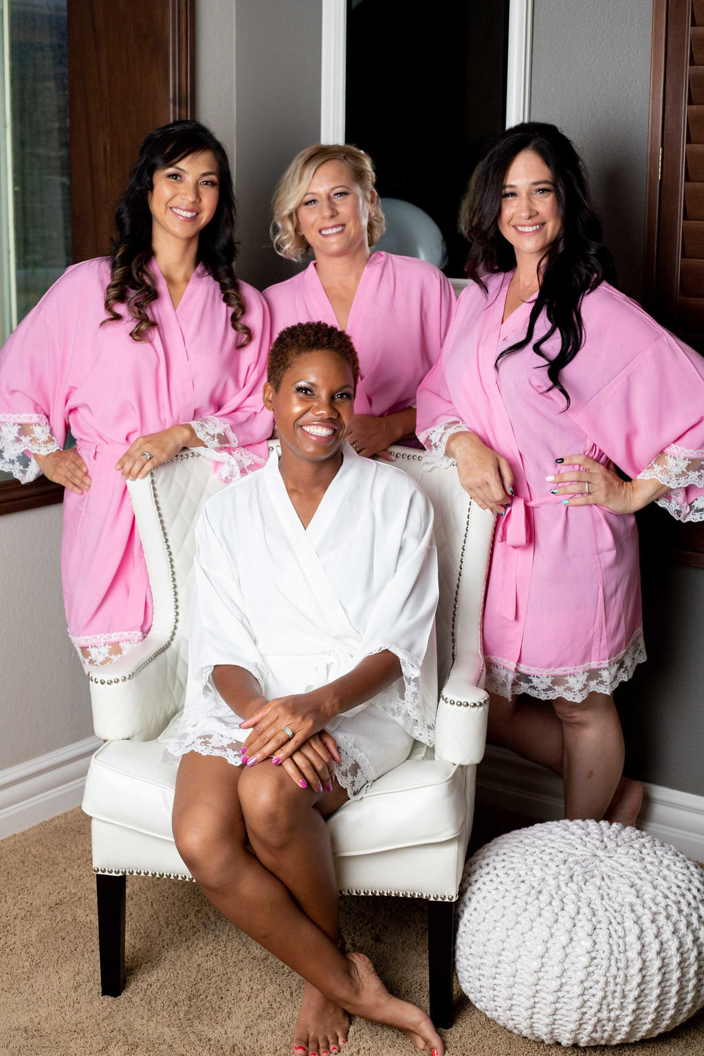 Light Pink bridesmaid robes