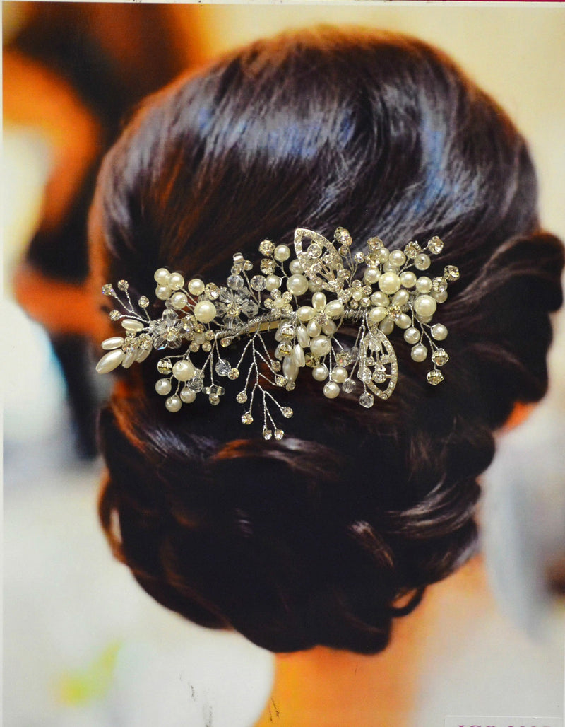 Wedding Hair Accessories - Florence Bridal Hair Comb - Ella Winston
