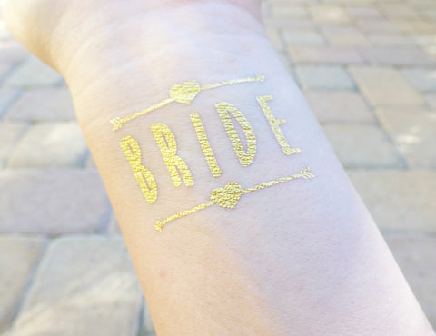 Bride Anchor Bachelorette Party Tattoo