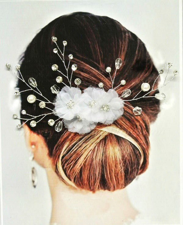 Bridal Hair Combs - Vienna Bridal Hair Comb - Ella Winston