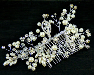 Wedding Hair Combs - Florence Bridal Hair Comb - Ella Winston
