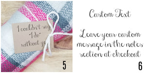 Personalized Tag Options