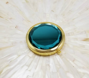 Teal Jewel top bridesmaid mirror